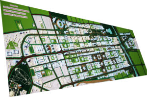 Эскиз застройки проекта детальной планировки центральной части г. Талдыкорган