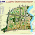 Проект детальной планировки правой части города Атырау
